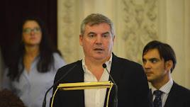 Manolo Vizcaíno, presidente del Cádiz.