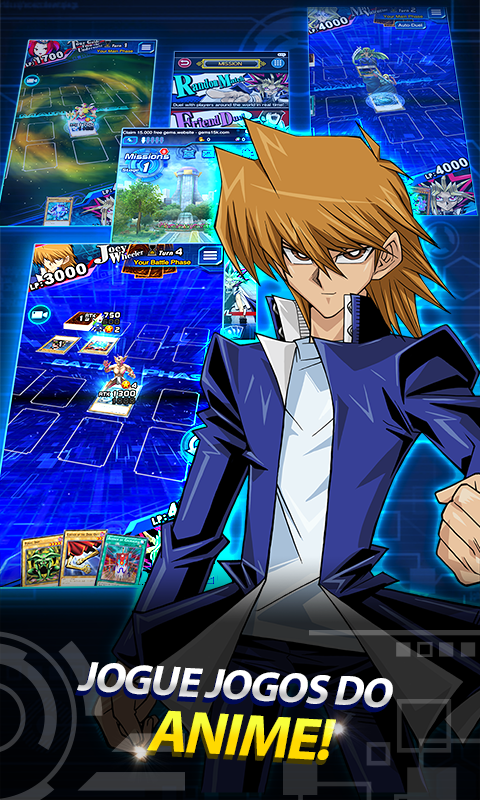 Yu-Gi-Oh! Duel Links: captura de tela