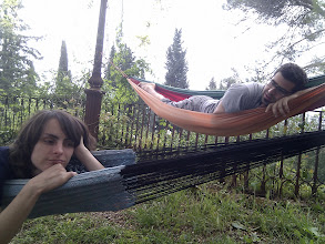 Photo: siesta time in a pleasent garden of Star House