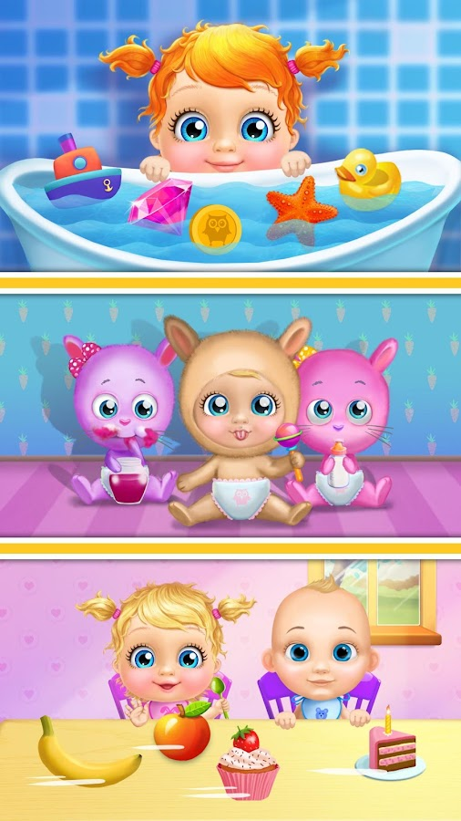 Crazy Twins Baby House- screenshot