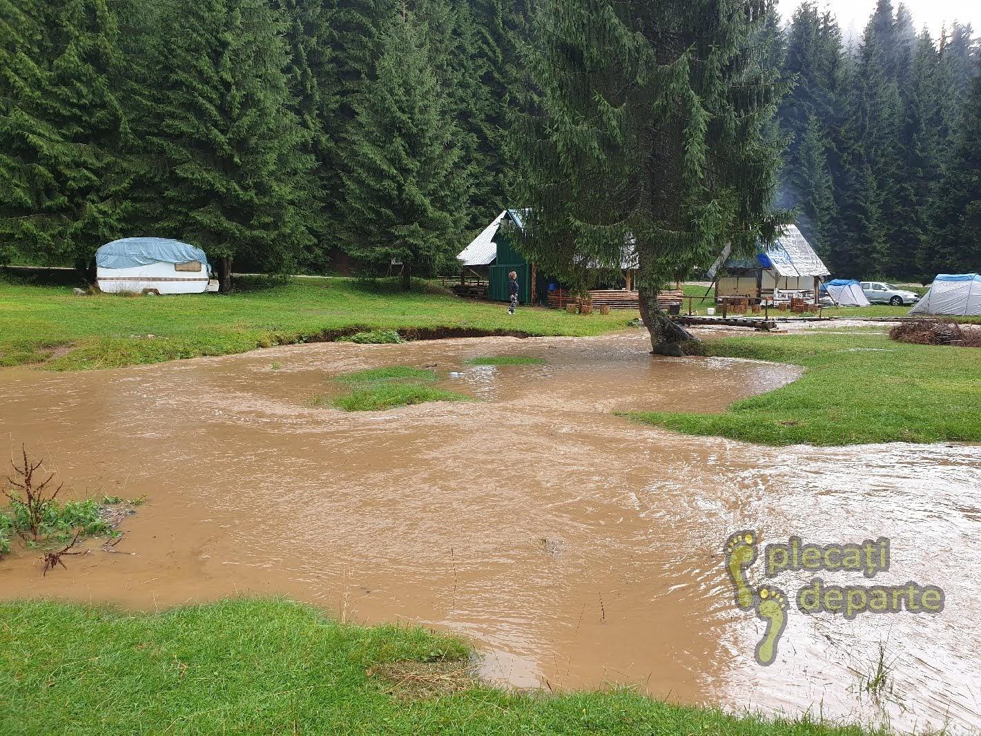 Dupa furtuna in Padis, in zona de campare Glavoi, ploi in padis, vremea padis, clima padis, trasee padis apuseni, parcul natural apuseni obiective turitice,