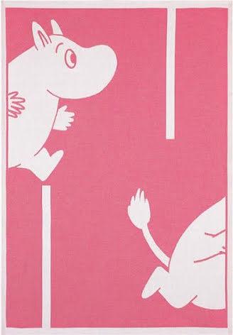 Ekelund Barnfilt Moomin Goes Red