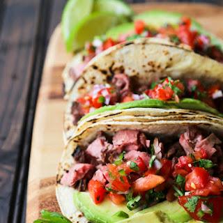 Carne Asada Tacos {Grilled Beef Tacos}.