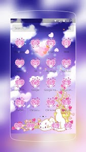 Pink Kitty Rabbit Love screenshot 1