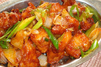 Batter Fried Chilly Chicken