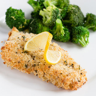Parmesan-Crusted Baked Cod Recipe