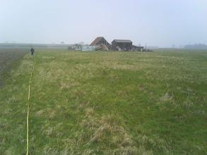 Photo: oud grasland (kort hierna geploegd en gerst gezaaid)