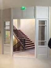 Photo: L'escalier XVIIIe : passage vers le bâtiment des grandes œuvres