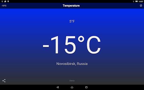 Temperature Free Screenshot 8