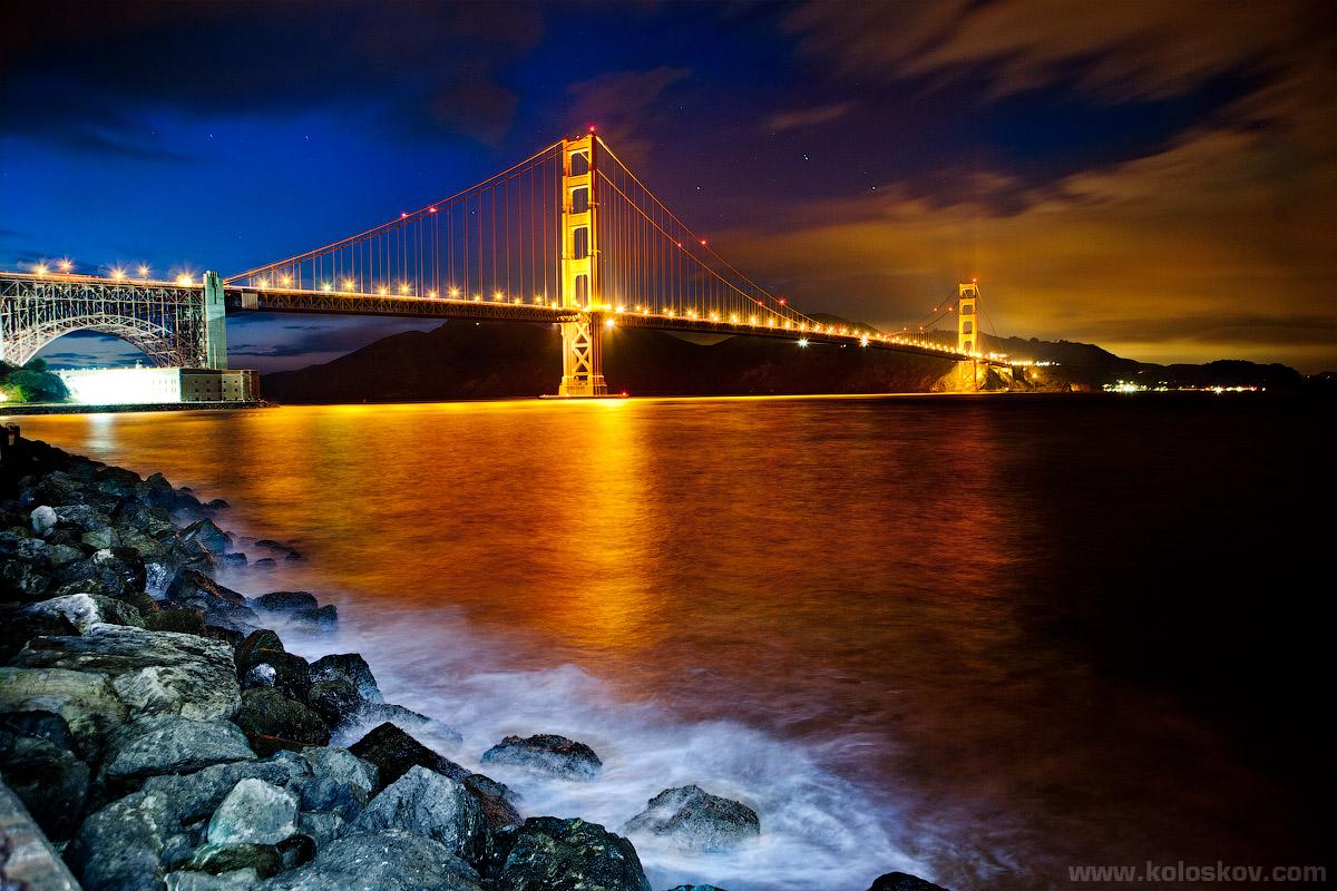 Photo: Golden Bridge by Alex Koloskov