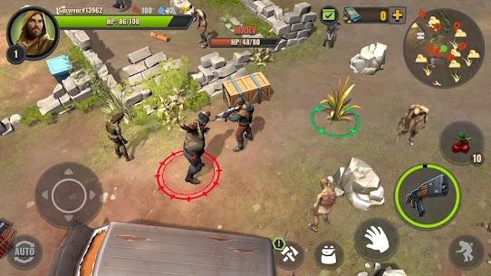 Days After zombie survival Apk Mod Free Craft 6