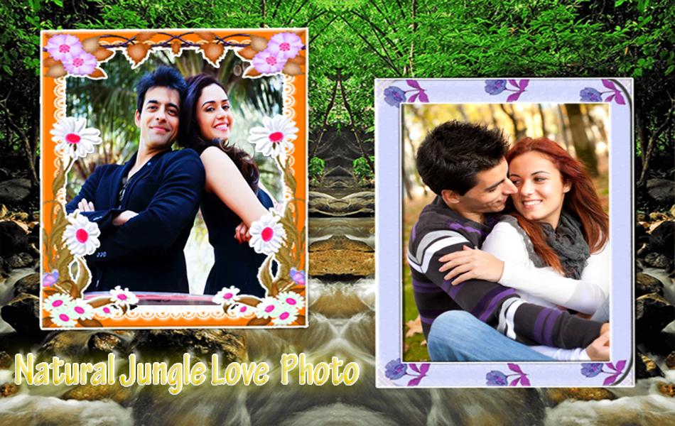jungle dual photo frame screenshot - Dual Picture Frame