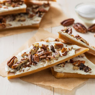 English White Chocolate Pecan Toffee