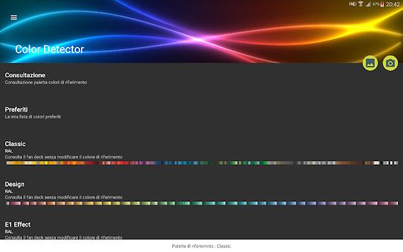 Ral Pantone color detector for ral pantone apk version app for