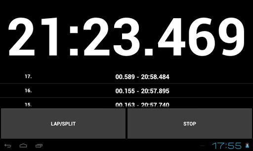 Simple Stopwatch Pro screenshot 9