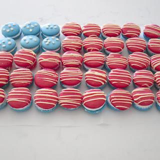 Mint Marshmallow Macarons