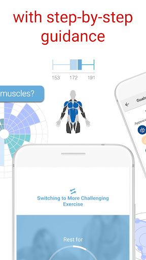 BodBot Personal Trainer:u00a0Workoutu00a0&u00a0Fitnessu00a0Coach 5.10 screenshots 2