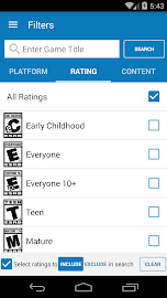 Video Game Ratings by ESRB Screenshot 6