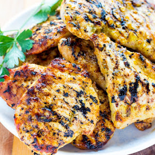 Grilled Lemon Rosemary Chicken Recipe