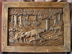 Photo: Tamaño: 68 x 93 cm. || Talla en madera. Woodcarving. Woodcarving.   Puedes conocer más de este artista en el blog: http://tallaenmadera-woodcarving-esculturas.blogspot.com/