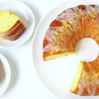 Lemon Yogurt Bundt Cake.