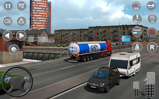 Oil Tanker Transport Game: Free Simulation apkmr screenshots 2