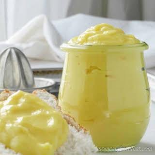 My Best Low Carb Lemon Curd.