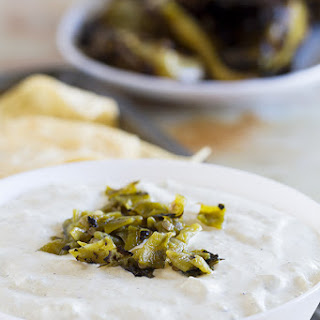 Creamy Hatch Green Chile Dip