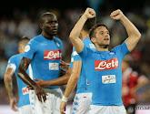 Dries Mertens zette met twee goals een scheve situatie recht voor Napoli