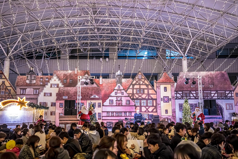 天神 福岡市役所西側ふれあい広場 TENJIN Christmas Market5