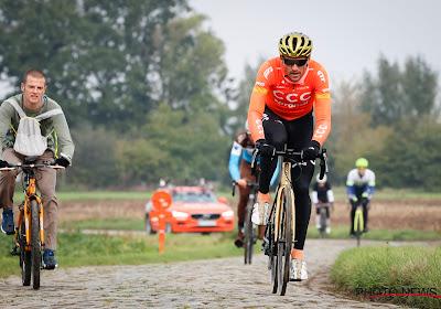 Greg Van Avermaet gaat niet van start in de Ronde van Vlaanderen
