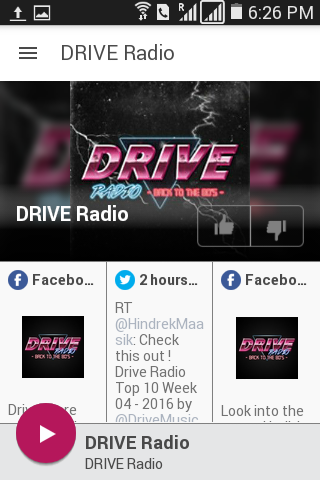 DRIVE Radio- screenshot