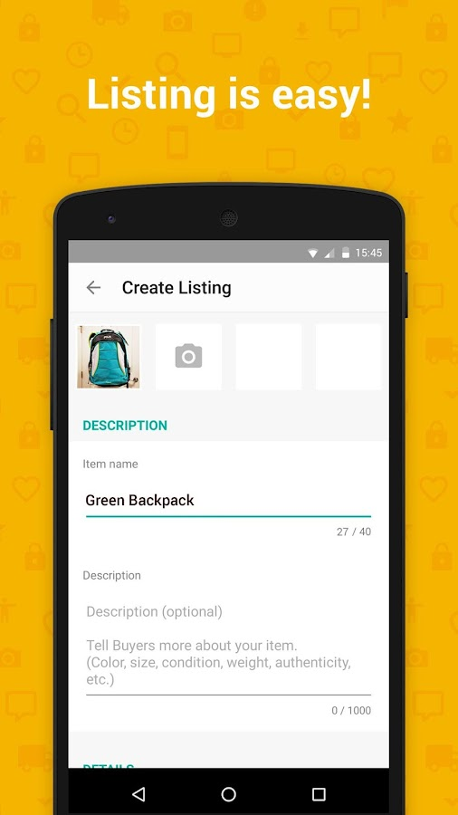 Mercari: Sell Safely & Simply- screenshot