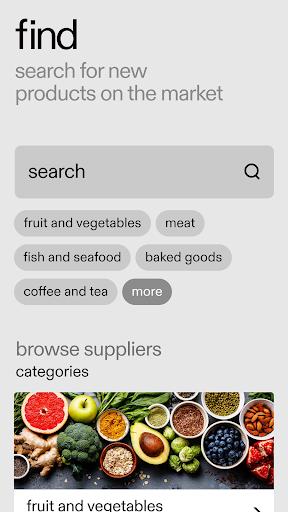 REKKI: the ordering app for chefs screenshot 2