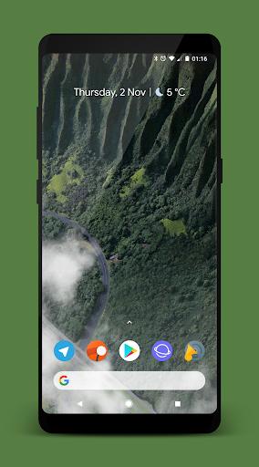 [Substratum] StatusBar (+extra) for Samsung DONATE  screenshots 1