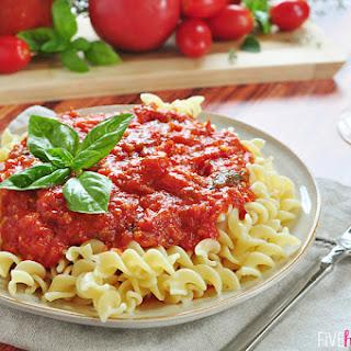 30-Minute Fresh Tomato Marinara Sauce.