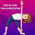 Step By Step Yoga - Meditation icon