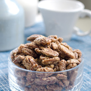 Cinnamon Sugar Coated Pecans Recipe