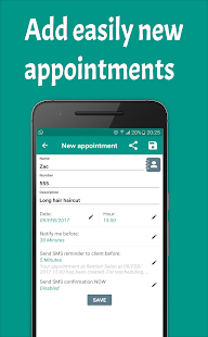 Appointments Planner - náhled