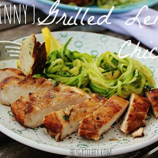 {Skinny} Grilled Lemon Chicken