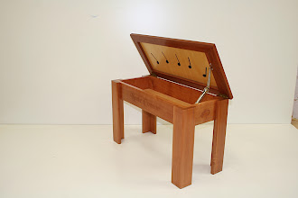 Photo: Piano seat - Christina Hansson Tas Mytle