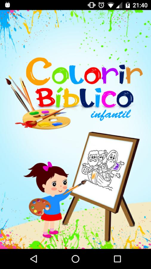 Childrens Bible Coloring Screenshot