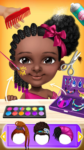 Pretty Little Princess - Dress Up, Hair & Makeup apkpoly screenshots 7