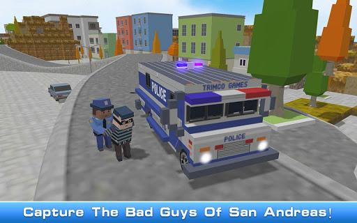 Foto do Blocky San Andreas Police 2018