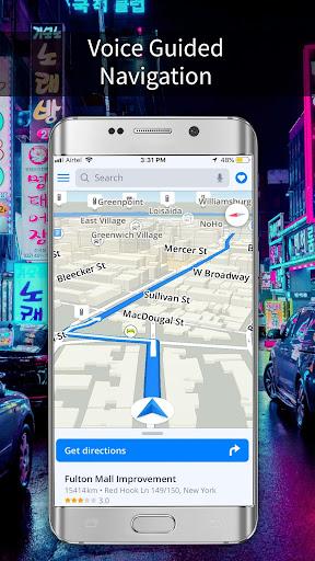 GPS, Maps, Navigations, Directions & Live Traffic 1.39.0 screenshots 3