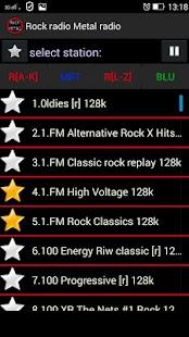 Rock radio Metal radio - náhled