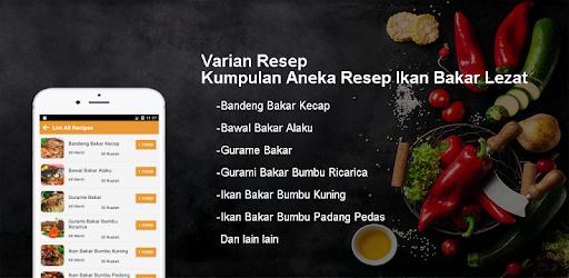 Download Kumpulan Aneka Resep Ikan Bakar Lezat Apk For Android Latest Version