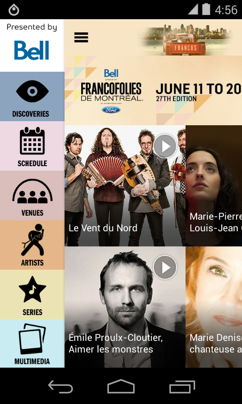 FrancoFolies de Montréal 2015- screenshot