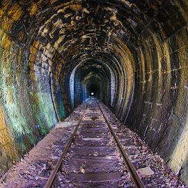 Ciudanovita by Andrei Laki - Transportation Railway Tracks