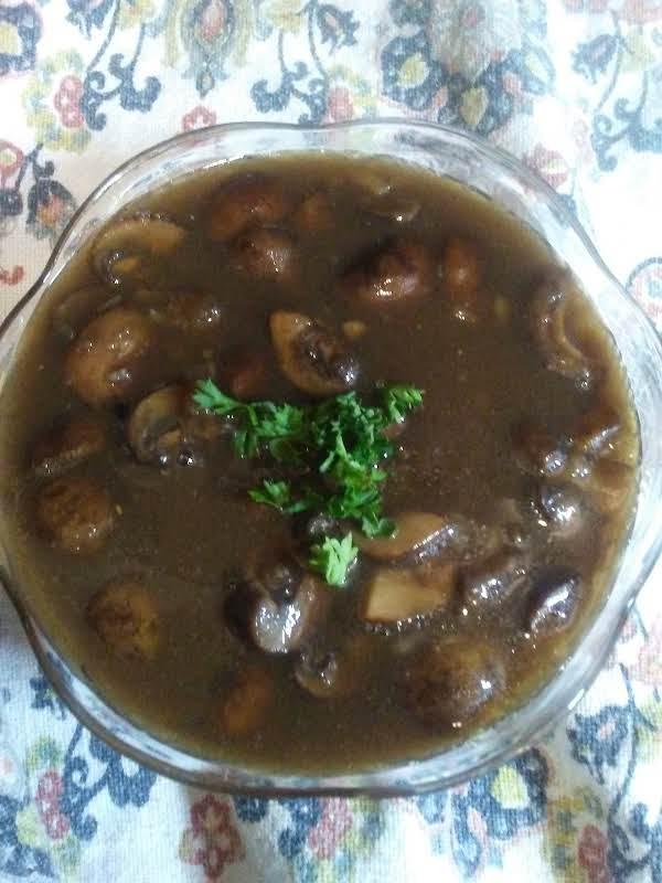 Marsala Mushroom Sauce Recipe